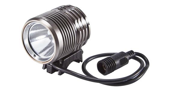 XLC Pro CL-F14 Lampa na kask 400 Lumen szary